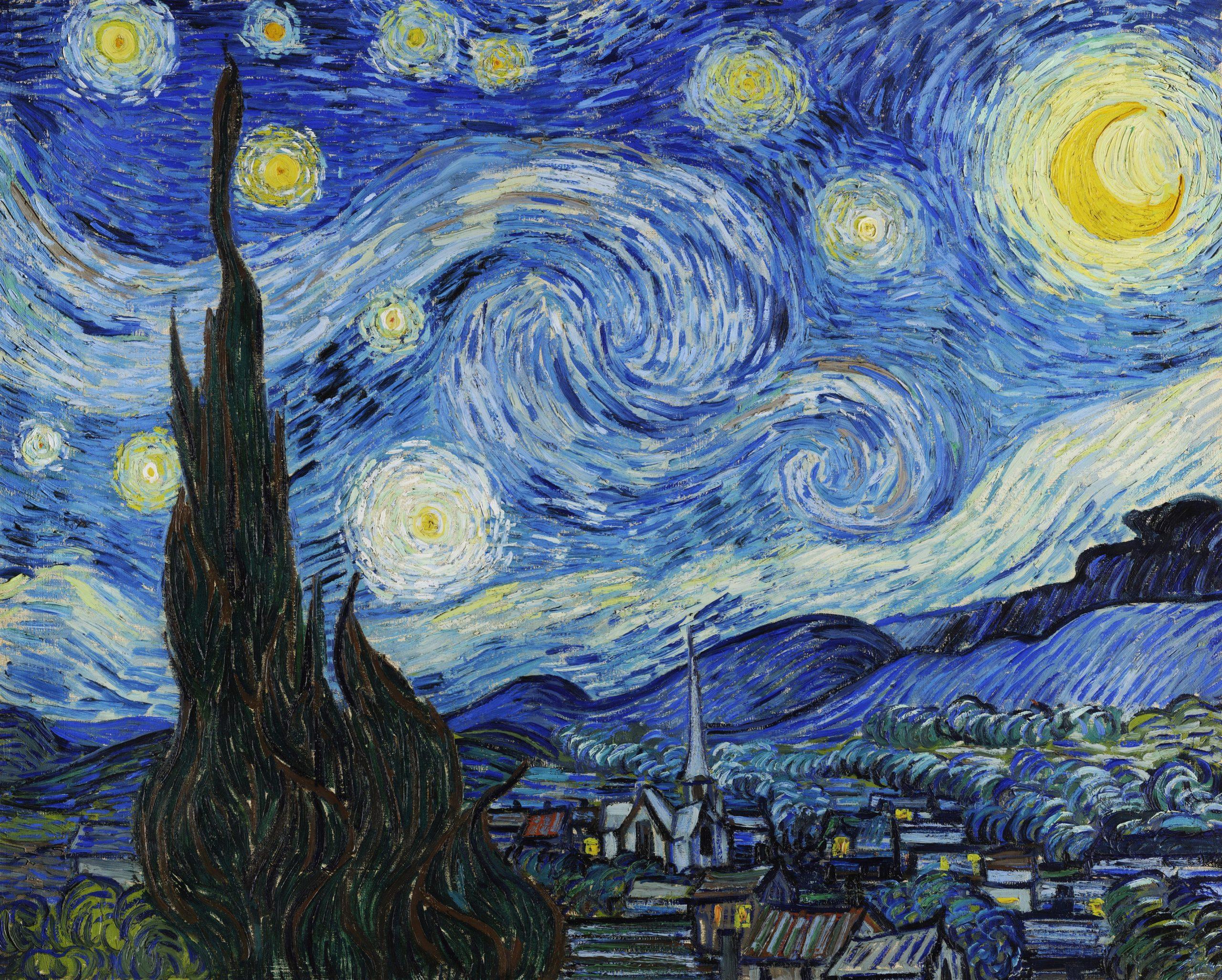 Le tableau de Vincent van Gogh La Nuit étoilée