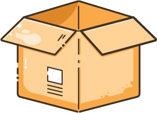 Illustration d'un carton de déméngement